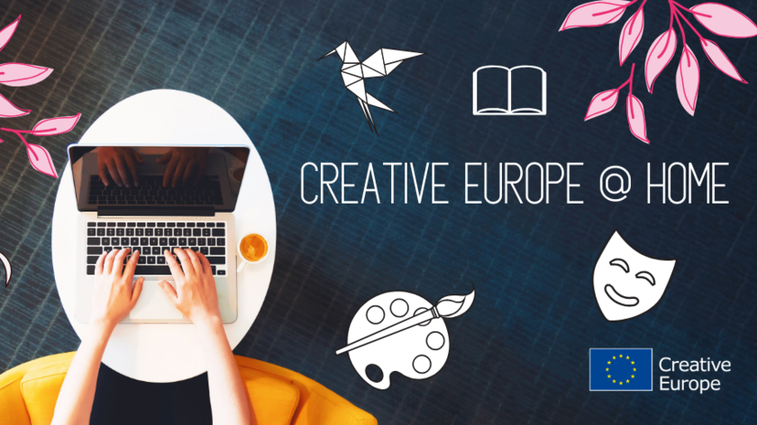 Creative europe at home